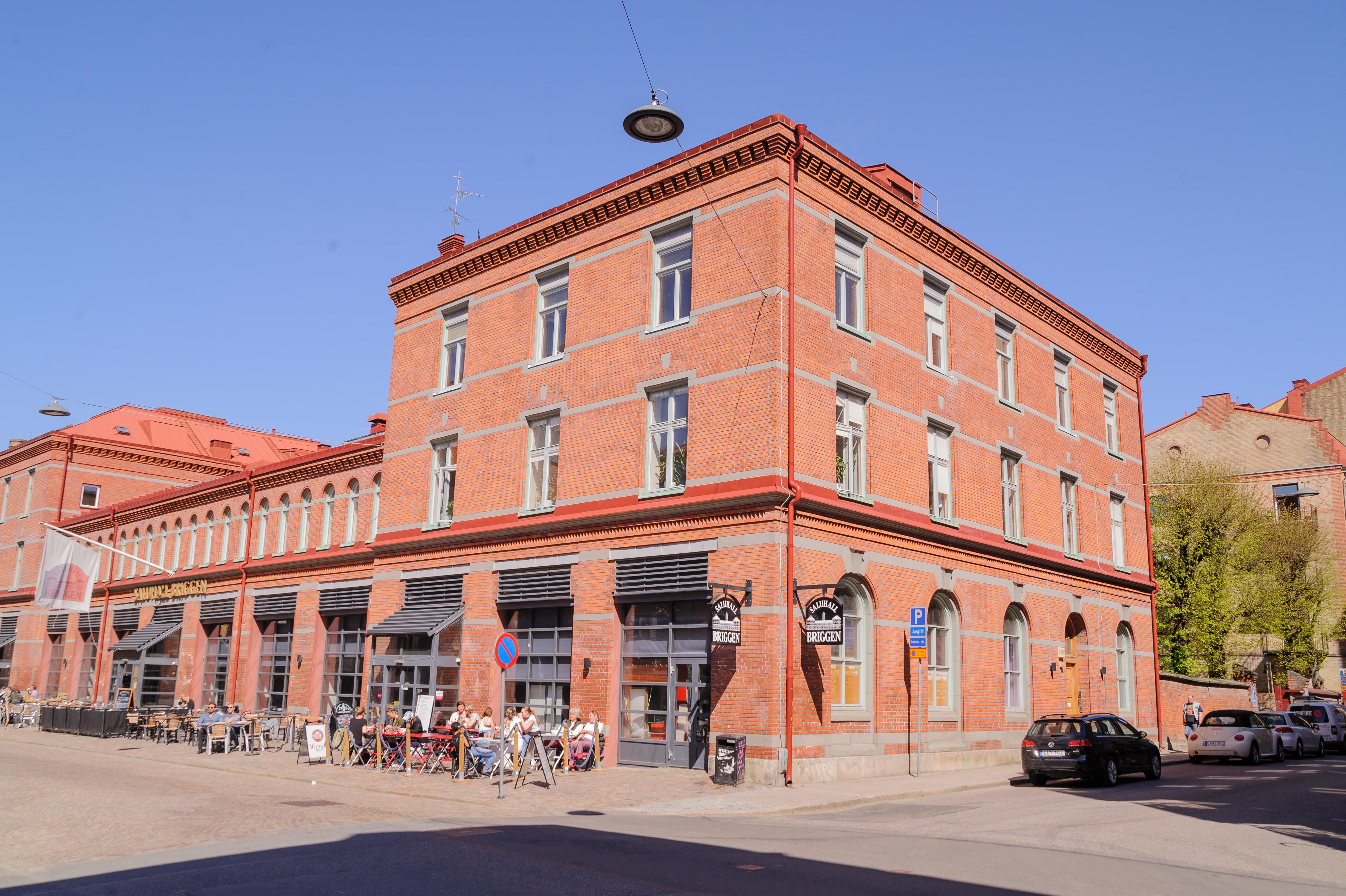 """e865deea29 GCK s lokaler på """"Briggen"""" Fjärde Långgatan 5"""